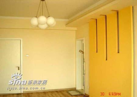 简约 二居 卧室图片来自用户2559456651在4.8万装100平米心魂俱醉满意家53的分享