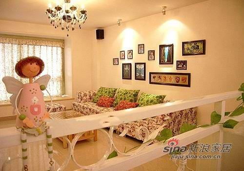 田园 三居 客厅图片来自用户2737946093在3室2厅精装田园婚房33的分享