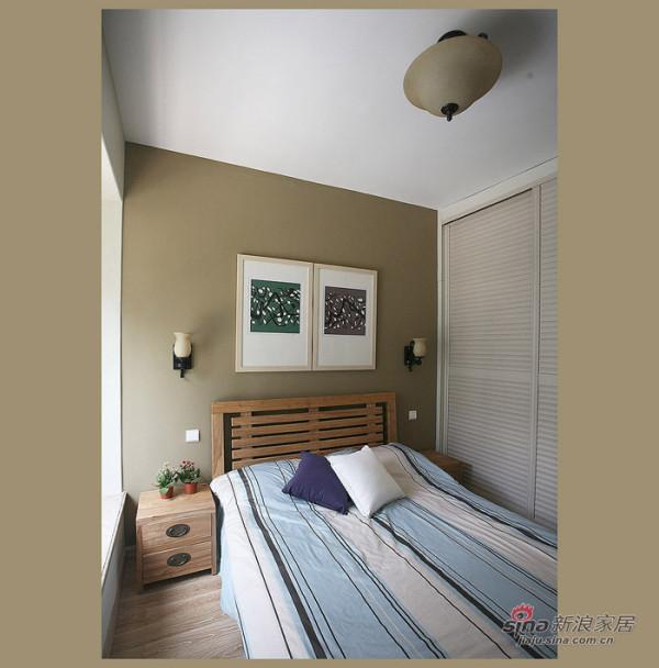简约 三居 卧室图片来自用户2738845145在9万高雅85平简约三居40的分享