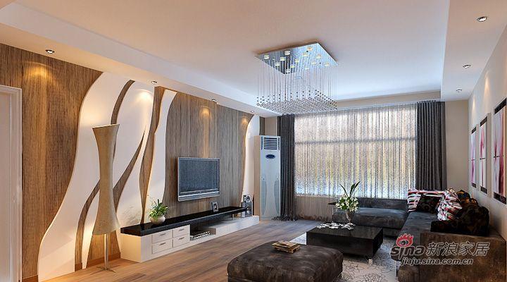 简约 三居 客厅图片来自用户2738093703在武汉青年打造广电兰亭都荟三居室简约风格56的分享