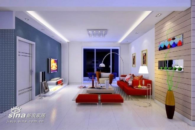 简约 四居 客厅图片来自用户2556216825在星河城26的分享