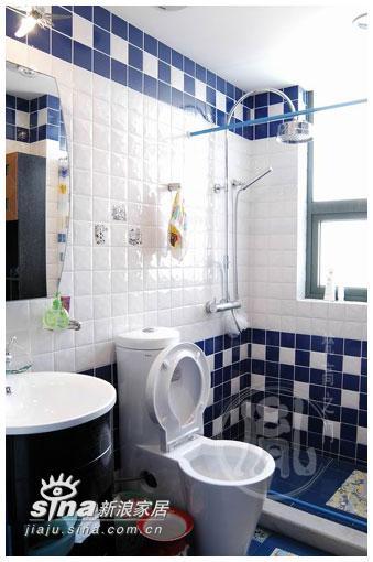 简约 四居 卫生间图片来自用户2737735823在惊艳蓝色二71的分享