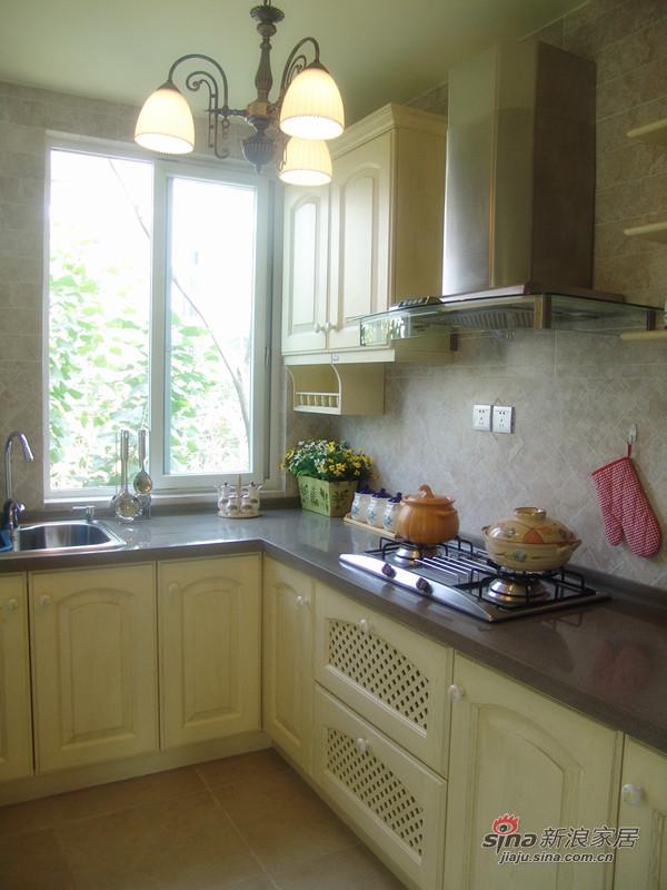 田园 二居 厨房图片来自用户2557006183在【高清】89平浪漫田园风格两居43的分享
