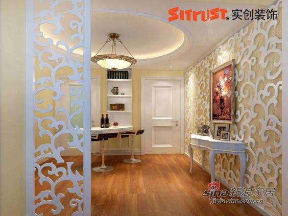 欧式 二居 客厅图片来自用户2757317061在80平二居现代简约欧式仅用5万5打造52的分享