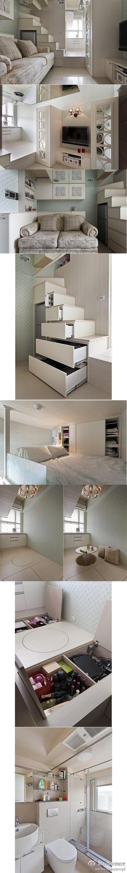 17平米如何做到两室一厅一卫