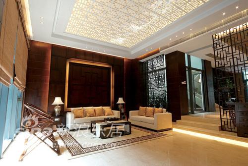 中式 别墅 客厅图片来自wulijuan_16在滨海御庭T1型别墅28的分享