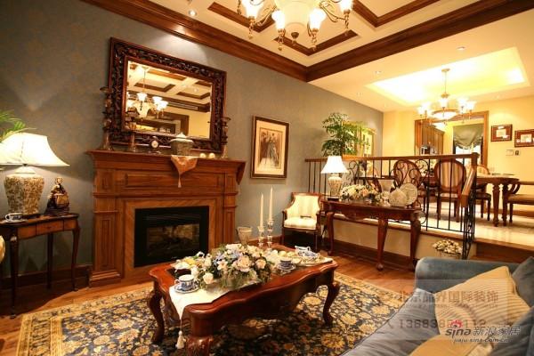 美式 三居 客厅图片来自用户1907685403在【高清】300平康城联排别墅81的分享