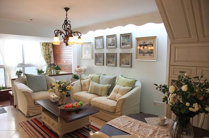 田园 loft 客厅图片来自用户2737791853在6.8万铸造田园风格loft两居室82的分享