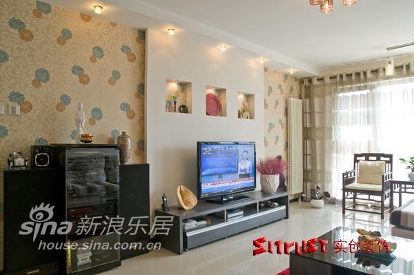 简约 二居 客厅图片来自用户2745807237在超现代简约样板间97的分享
