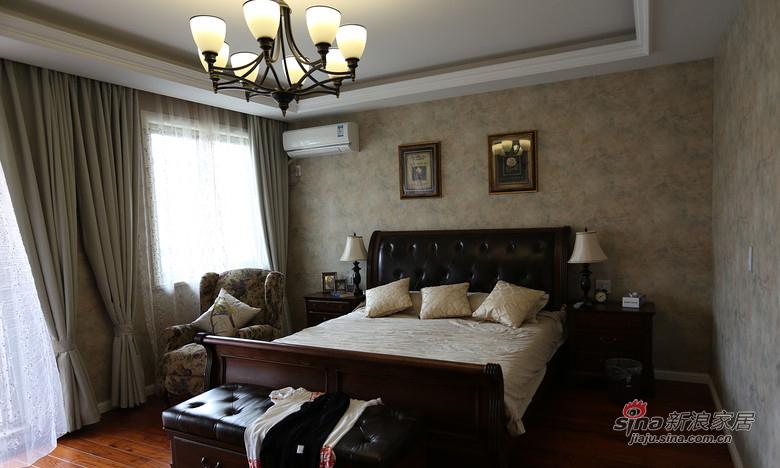 混搭 复式 卧室图片来自装修微日记在【高清】178平大气混搭时尚复式空间64的分享