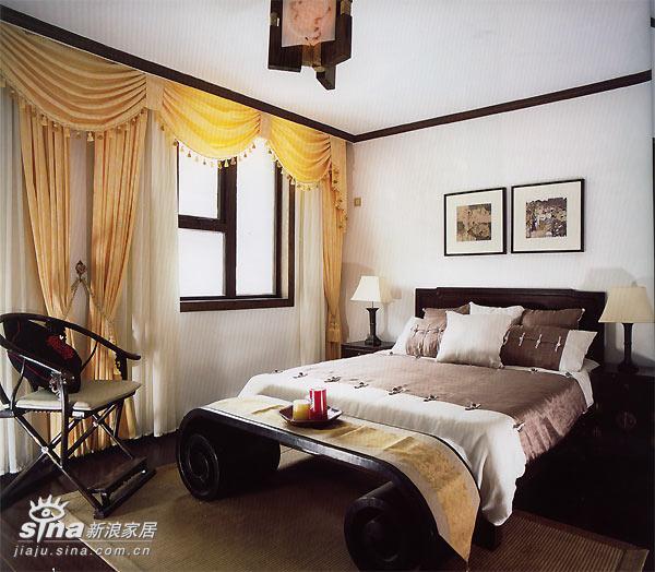 中式 跃层 卧室图片来自用户2748509701在中式家居58的分享