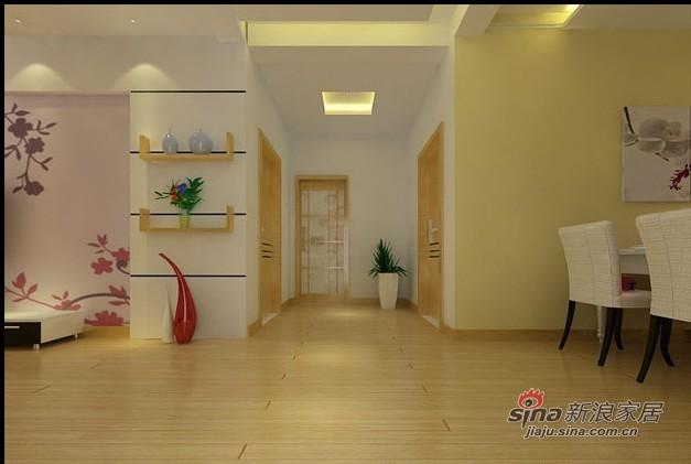 简约 二居 客厅图片来自用户2738829145在简约设计87平老房装修96的分享