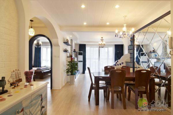 地中海 别墅 餐厅图片来自用户2757320995在地中海风格清新自然小别墅37的分享