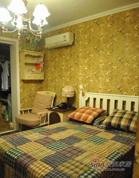 田园 二居 卧室图片来自用户2737791853在72平蜗牛居变身唯美田园家61的分享