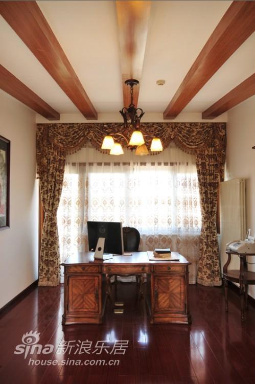 中式 别墅 书房图片来自用户2737751153在中式韵味别墅15的分享