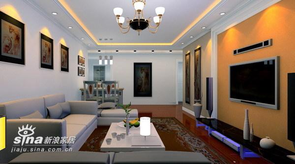 简约 三居 客厅图片来自用户2738820801在简洁明快93的分享