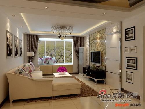 客厅则是艺术与生活、现代与古典的完美结合