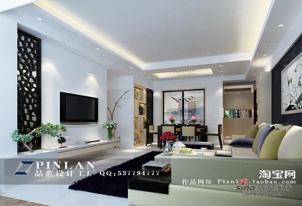 新中式电视背景墙设计