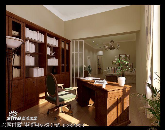 简约 四居 书房图片来自用户2737782783在万城华府尚园11号楼1单元82的分享