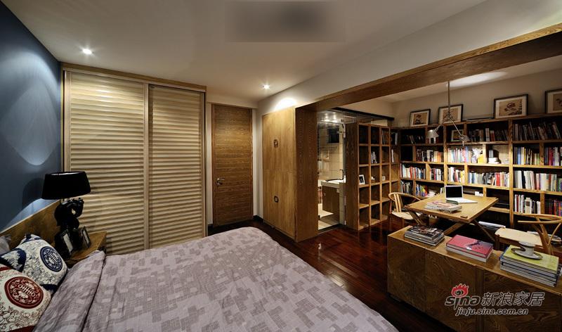 北欧 三居 卧室图片来自用户1903515612在港女15万造130平米复古稳重家29的分享