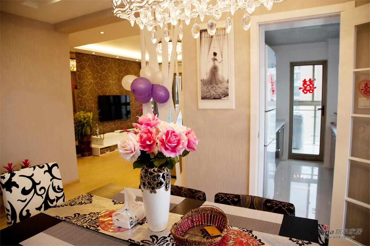 简约 二居 客厅图片来自佰辰生活装饰在【高清】新婚小两口93平温馨简约婚房49的分享