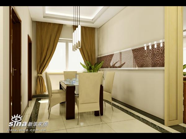 简约 复式 餐厅图片来自用户2558728947在亦庄狮城百俪时尚简约设计41的分享