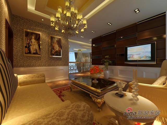 简约 别墅 客厅图片来自用户2558728947在欧式奢华蓝堡别墅63的分享