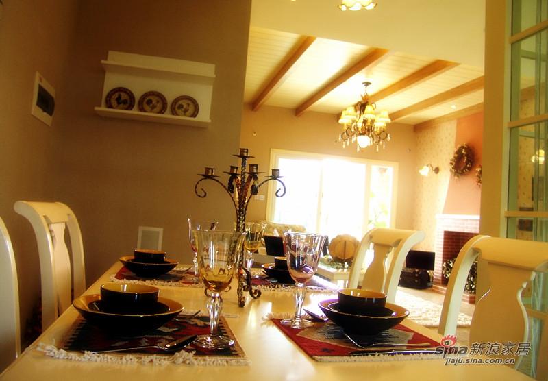 田园 二居 餐厅图片来自用户2557006183在【高清】89平浪漫田园风格两居43的分享