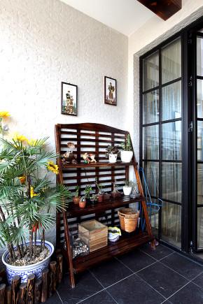 其他 二居 阳台图片来自上海映象设计-无锡站在【高清】半包8万装87平混搭穿越55的分享