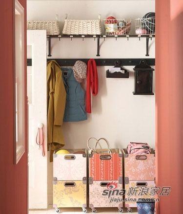 优化空间 10种玄关收纳方案