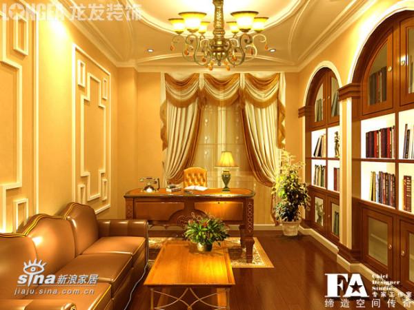 欧式 别墅 书房图片来自用户2745758987在昆明海韵枫丹别墅91的分享