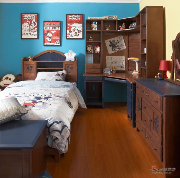儿童房-松木家具3