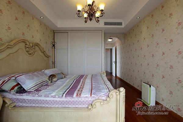 美式 二居 卧室图片来自用户1907685403在110平时尚公寓爱上美式风36的分享