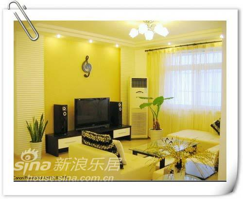 简约 二居 客厅图片来自用户2737950087在5万简装113平舒适大方浅色系三口之家87的分享
