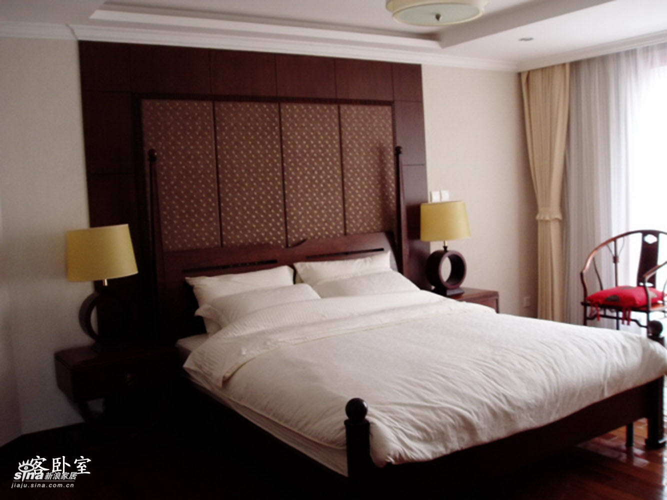 中式 复式 卧室图片来自用户2757926655在冻疑质感37的分享