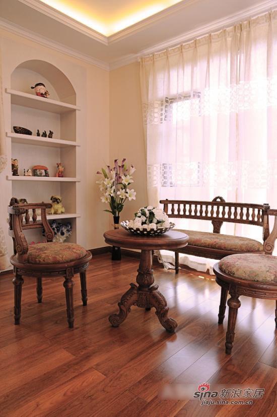 其他 别墅 客厅图片来自用户2557963305在浪漫不失大方 自然乡村风大气别墅10的分享