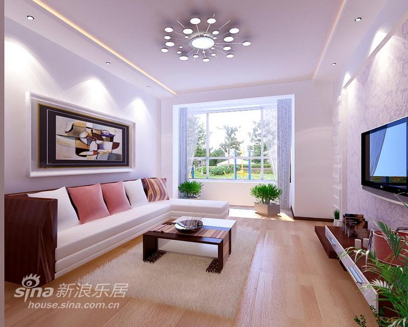 简约 一居 客厅图片来自用户2738820801在80平明亮清爽充满朝气的两居室47的分享