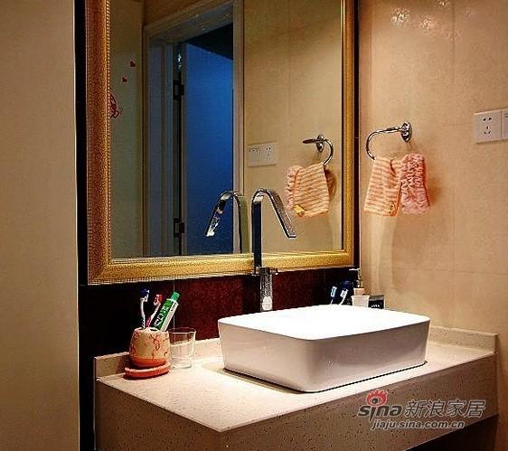 简约 三居 卫生间图片来自用户2738093703在6万装好我的100平3室1厅94的分享