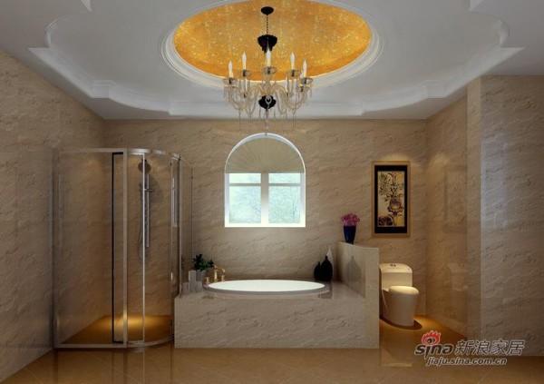 欧式 三居 卫生间图片来自用户2557013183在舒适温馨的简欧风格62的分享