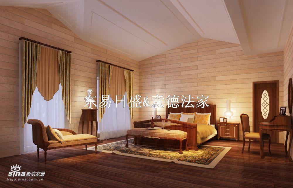 欧式 别墅 卧室图片来自用户2772856065在香山清琴(西山别墅)25的分享