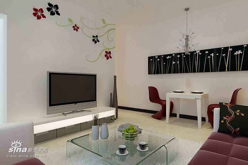 简约 二居 客厅图片来自用户2738093703在清河新城简约设计17的分享