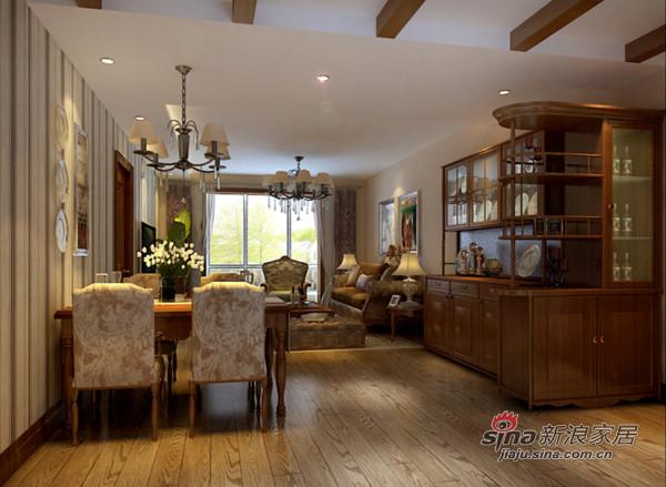 欧式 二居 客厅图片来自用户2557013183在7.7万打造90平米美式风格60的分享