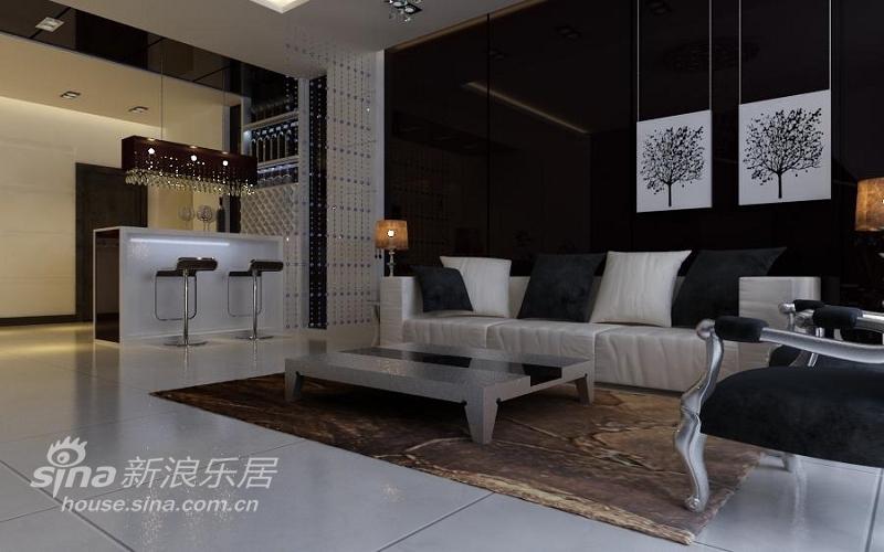 简约 复式 客厅图片来自用户2557979841在180平米的异国情味21的分享