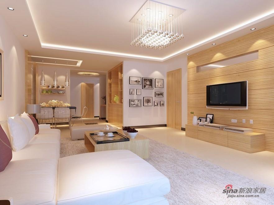 简约 一居 客厅图片来自用户2738093703在瑞海家园124平简约大气设计31的分享