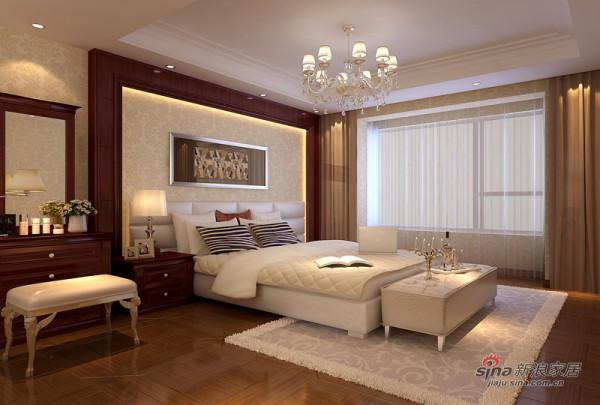 低调的小奢华打造百胜青城一品三居室欧式风