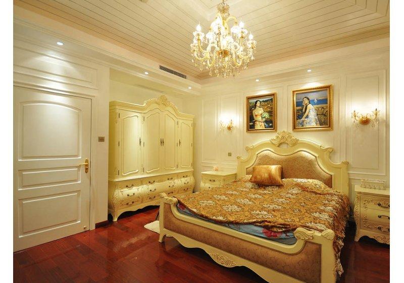 欧式 别墅 卧室图片来自用户2746953981在阿凯笛亚庄园跨越巴洛克89的分享