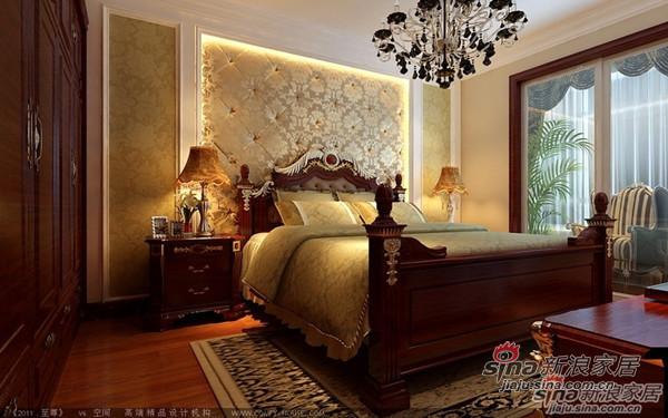 欧式 三居 卧室图片来自用户2746948411在148平古典奢华版欧式风格3居室95的分享