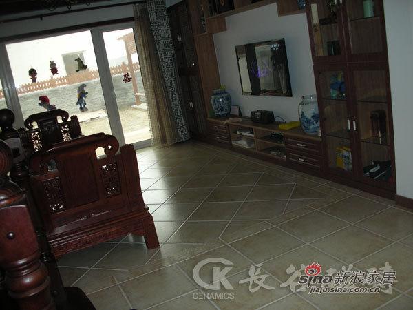 中式 别墅 客厅图片来自用户1907661335在内敛——演绎冷色调中式风格65的分享