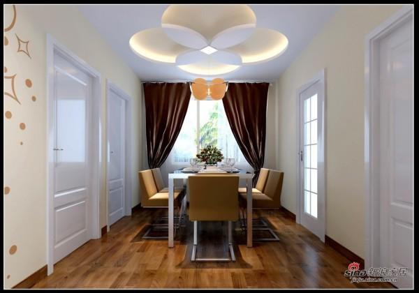 简约 二居 餐厅图片来自用户2557010253在大包6万改造87㎡简约清新2居室36的分享