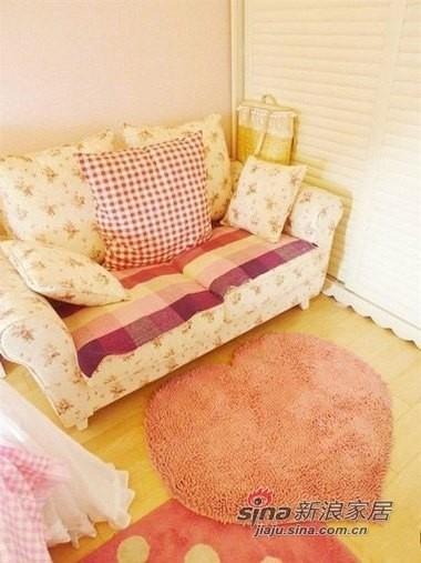 这红色的心型地毯不错吧,也是淘回来的
